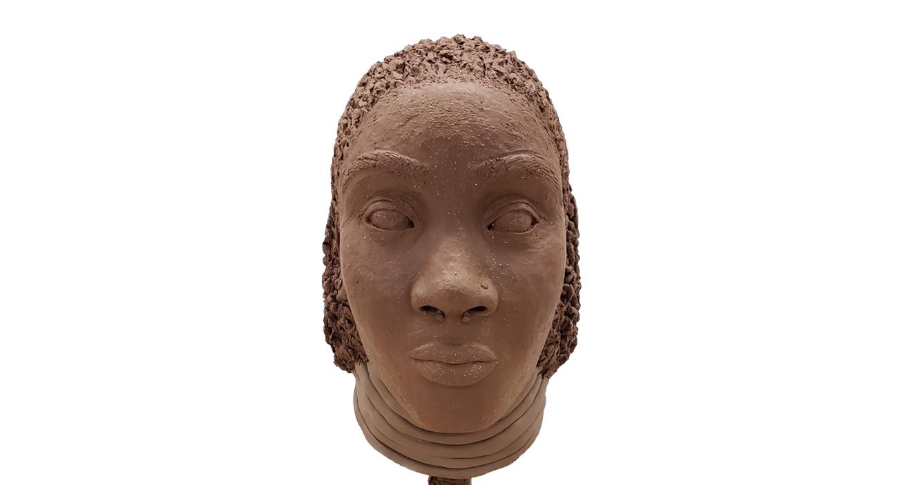 portrait bust – Front